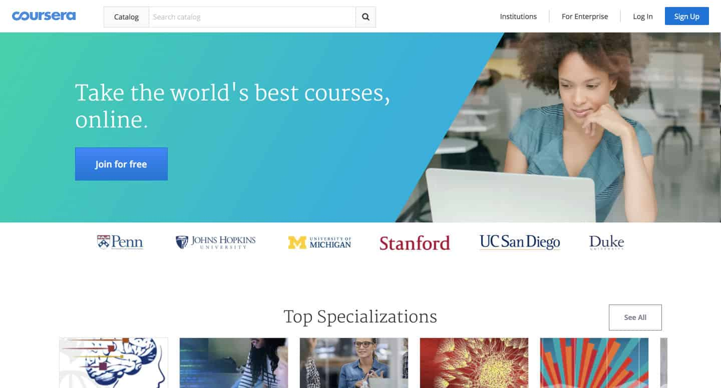 A Guide on How to Sign up for Coursera Courses for Free