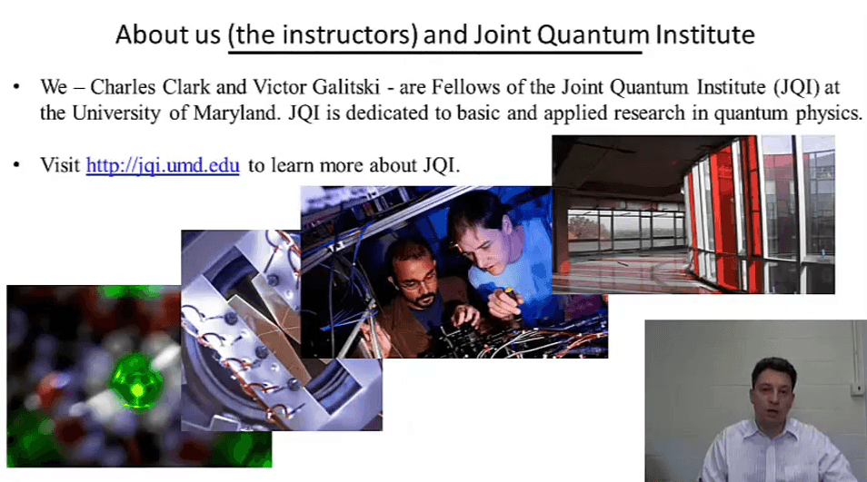 Exploring Quantum Physics on Coursera