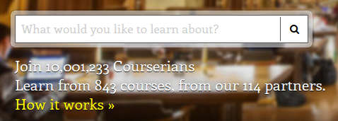 Coursera, the largest MOOC provider crosses 10 million students, earns $1M+ in monthly revenues