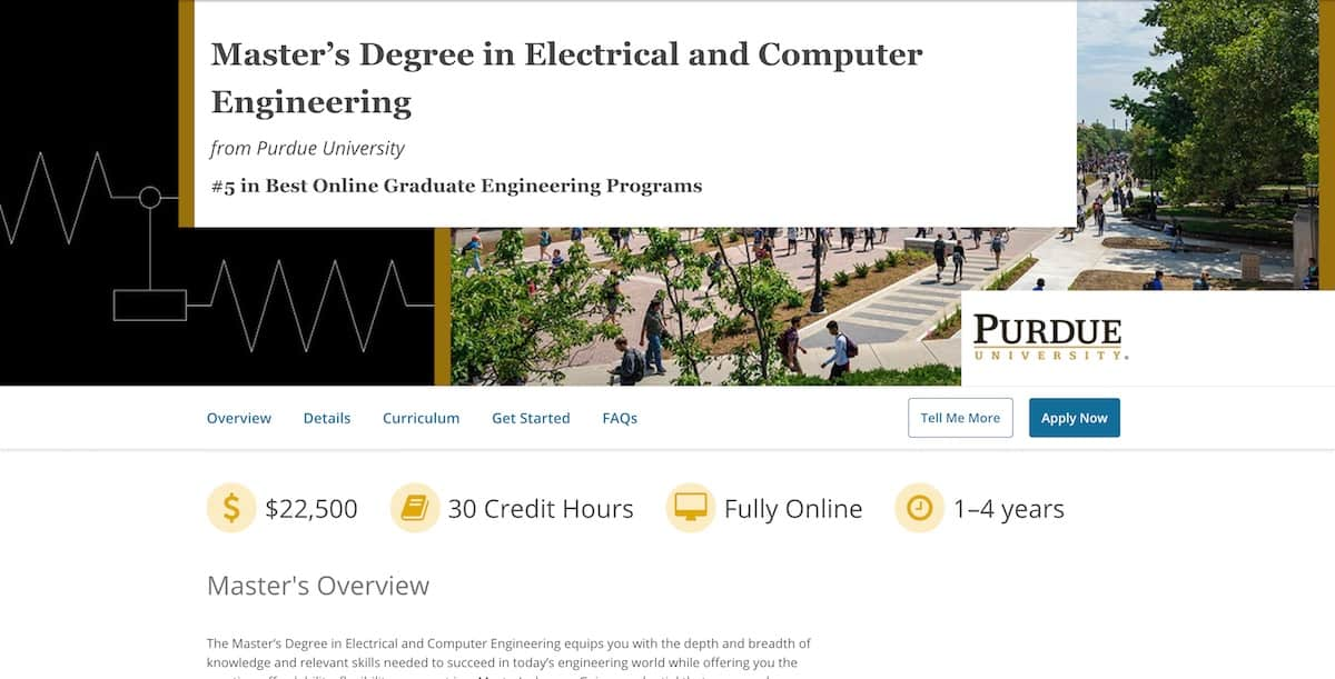 Purdue University Announces Master's in Electrical and Computer Engineering on edX