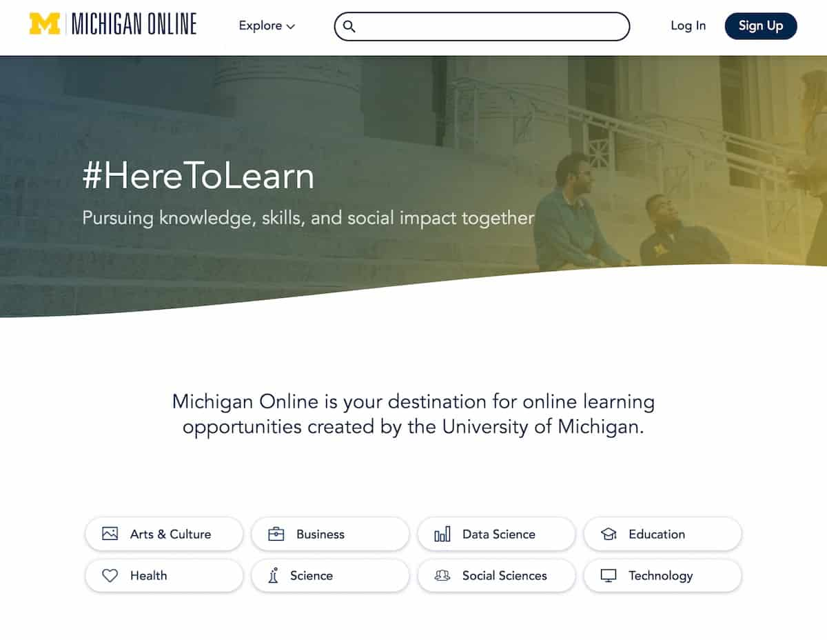 University of Michigan Now Has MOOCs on Three Major Platforms
